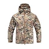 Jianhui Hiking Soft Shell Military Tactical Outdoor Jacket Men Waterproof Clothing...