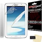 Techgear - Set de 5 protectores de pantalla para Samsung Galaxy Note 8.0 N5100 y N5110 (incluye gamuza limpiadora)
