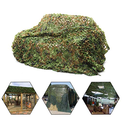 QI-CHE-YI Anti-Kamera Tarnnetz Dschungel Tarnnetz Shade Tarnung Tarnung Net Berglandschaft Dekoration Net,2x3m
