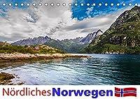 Noerdliches Norwegen (Tischkalender 2022 DIN A5 quer): Ein Kalender mit Fotografien aus dem noerdlichen Norwegen im Bereich der Lofoten bis Tromsø. (Monatskalender, 14 Seiten )