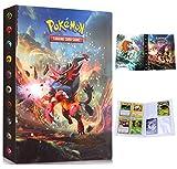 Album Pokemon, Álbum de Cartas Pokémon, Álbum Titular de Tarjetas Pokémon Carpeta Carpeta Libro 30 páginas 240 Tarjetas Capacidad (Incineroar)