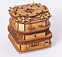Cluebox - EEN Escape Room in een doos. Davy Jones Locker. 3D puzzel - denkspel - puzzelspel - geduldspel - logica spel...