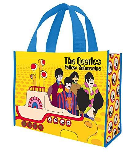 Vandor Einkaufstasche, recycelt, groß Die Beatles, Yellow Submarine 16 x 6 x 12