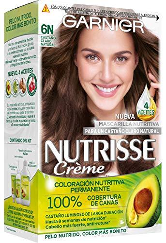 Nutrisse Creme Coloracion nutritiva Castaño Claro Natural 6N