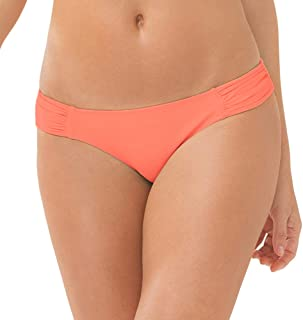 Women's Swim Secret Side Ruched Bikini Bottom