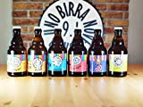 BOX DEGUSTAZIONE GIRO DEL MONDO IN 12 BIRRE- BOX da 12 bottiglie di birra artigianale Ital...