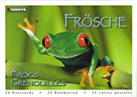 Frogs Postcard Book