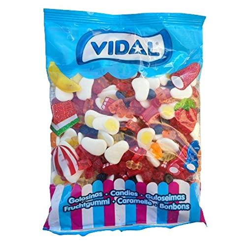 Funny Mix Vidal - Surtido mini chuches brillo - Bolsa 1KG