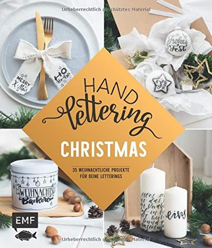 Handlettering ― Christmas: 35 weihnachtliche Projekte für deine Letterings: mit großem Vorlagenposter