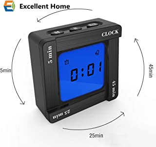 Excellent Home New Creative Countdown Timer, Timer 5, 25 And 45 Minute Timing For Time Management, Kitchen Timer, Classroom Or Meeting Timer, Exercise Timer(Black)