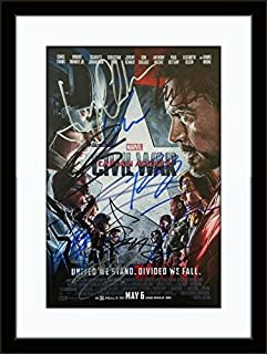 captain america autograph