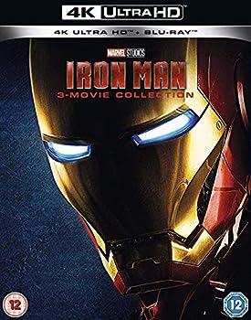 Iron Man 1-3 4K UHD Trilogy Region Free
