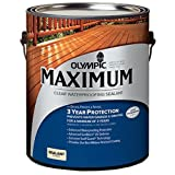 オリンピックマキシマム クリア(透明) 3.78L 木材保護塗料