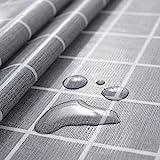 rismart Rústica Más Patrones Impermeable PVC Mantel de Hule Rectangular Prueba de Aceite Mesa...