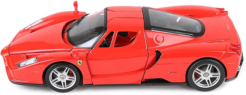 primera reputación de los clientes primero JIANPING Modelo Modelo Modelo de Coche Coche 1 24 Ferrari Enzo Adornos de Juguete colección de Autos Deportivos Joyas 19x8x5CM Auto Modelo  punto de venta