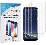 Weinstock-Science |3D 3X Schutzfolie für Samsung Galaxy S9 | Schutzfolie, Bildschirmfolie, Folie, Bildschirmschutzfolie (Klar)