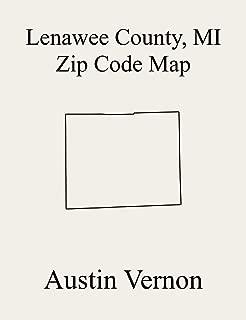 Lenawee County, Michigan Zip Code Map: Includes Adrian, Clinton, Macon, Adrian, Palmyra, Woodstock, Blissfield, Cambridge, Deerfield, Dover, Fairfield, ... Hudson, Hudson, Madison, Medina, Moren