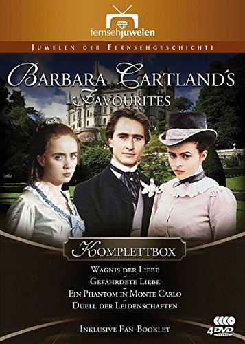 Barbara Cartland's Favourites Komplettbox (Wagnis der Liebe / Gefährdete Liebe / Ein Phantom in Monte Carlo / Duell der Leidenschaften) [4 DVDs]
