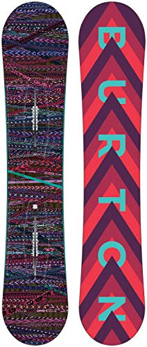Burton Damen Feather Snowboard, Schwarz, 144
