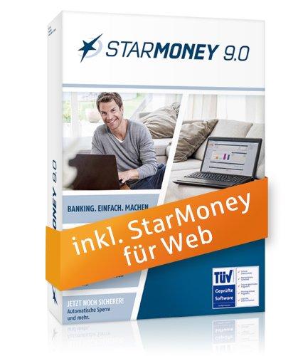 Star Finanz StarMoney 9.0 inkl. 1 Jahrfür Web