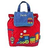 Personalized Choo-choo Train Embroidered Backpack