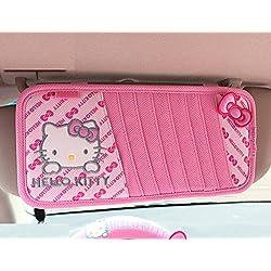 Hello Kitty Car Cd/dvd Folder Cd Clip (Butterfly Pattern)