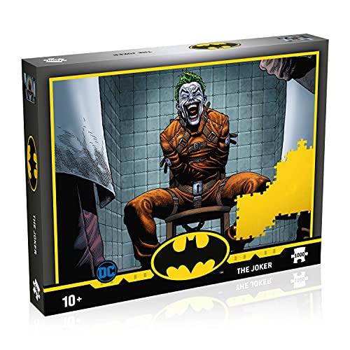 Winning Moves Batman: The Joker 1000 pezzi puzzle gioco, Multicolore, WM01700-ML1-6