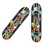WFFF Longboards Niños Surfskate Skate Tablero Arce Tablero Crucero para Adolescentes Adultos Principiantes Niñas,23.6 Inch