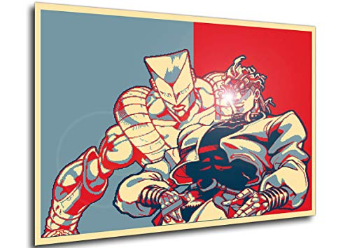 Instabuy Poster Propaganda Pixel Art Full Jojo All Star Battle Dio Brando V Manifesto 70x50