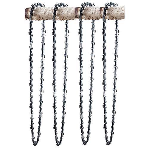 4 Ripping chaînes adapté pour Husqvarna 562 XP | 50cm 3/8 72M 1,5mm