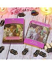 Beginners Vergulde Romantic Angel Oracle Cards, 44 Sheets Meest Innovatieve Tarot Card Game Cards, Engel, God Kaarten, Fate Prediction Card Sets, Tarot Deck