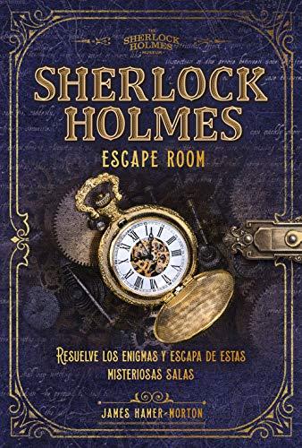 Sherlock Holmes. Escape room (Libro interactivo)