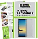 dipos I 4X Schutzfolie matt kompatibel mit Samsung Galaxy Note 8 Folie Bildschirmschutzfolie (2X Vorder- und 2X Rückseite)