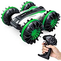 IAMGlobal 4WD RC Rotating Double Sides Stunt Car