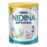 Nestlé Nidina OPTIPRO 3 da 12 Mesi Latte di Crescita in Polvere, Latta da 800 g