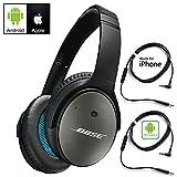 Bose QuietComfort 25 Kopfhörer mit Geräuschunterdrückung für Android und Apple-Geräte