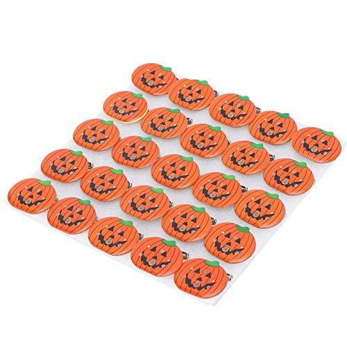 LZKW Pumpkin Brooch, Glitter Brooch 25pcs Halloween LED Brooch, Pumpkin Shape for Halloween Parties Festivals Decoration Gift Children's Parties