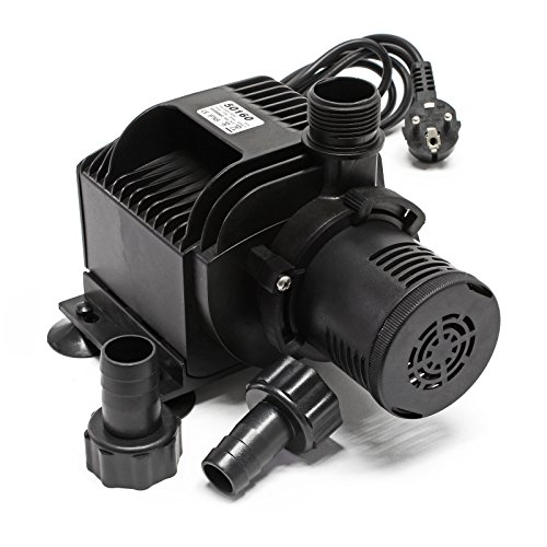 SunSun HJ-5000 Eco Bomba para estanques, Bomba de Filtro 4000l/h 65W Jardín Mantenimiento estanques