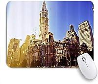 KAPANOUマウスパッド ヨーロッパの古代建築の時計塔 ゲーミング オフィス最適 高級感 おしゃれ 防水 耐久性が良い 滑り止めゴム底 ゲーミングなど適用 マウス 用ノートブックコンピュータマウスマット