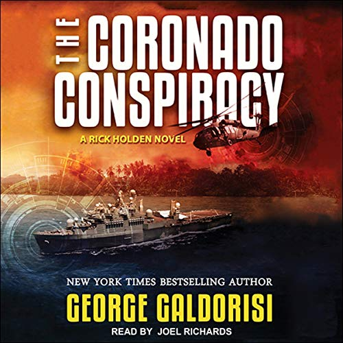 The Coronado Conspiracy audiobook cover art
