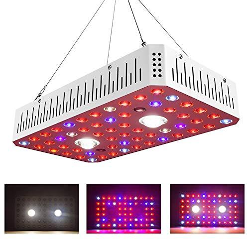 1000W COB LED-Zuchtlampen, Vollspektrum VEG BLOOM Switch Phyto Lamp Gewächshauszeltzuchtleuchten für Zimmerpflanzen