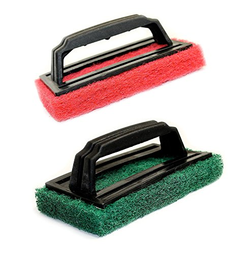 Set of 2 BBQ Grill Scrubbers, 1