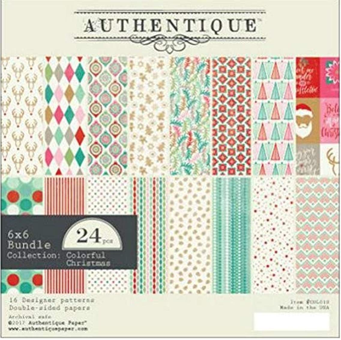 Authentique Paper Authentique Double-Sided Cardstock Pad 6