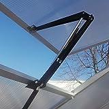 Plantiflex Automatischer Fensteröffner Temperaturgesteuert mit 7 kg Hubkraft für Gewächshaus Treibhaus Frühbeet autom. Fensterheber