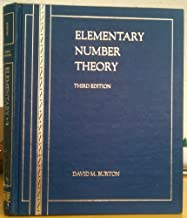Elementary Number Theory 3rd edition by Burton, David M. (1994) Hardcover