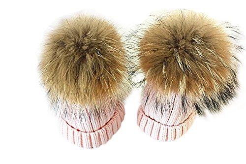 TININNA Pack de 2 Sombreros de Punto para Padres e Hijos, Pack...