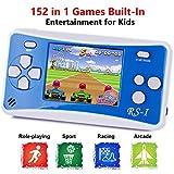 QINGSHE Console de Jeux Portable, Console Électronique Portable Classique et Rétro à Écran LCD...
