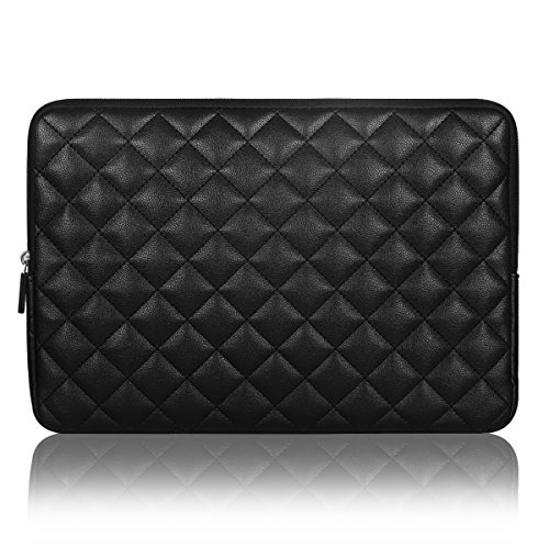 Arvok 15-15,6 Pulgadas Funda Protectora para Portatil - Ordenadores Portátiles Bolso de la Cubierta Caja de La Tableta para MacBook Pro, MacBook Air, Tablet, Laptop, Notebook, Ultrabook - Negro