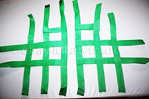 NERF Bar fussgi tter nervios Bar Red textil Shin Shineray 250stxe Nets Foot Peg ATV Quad Verde