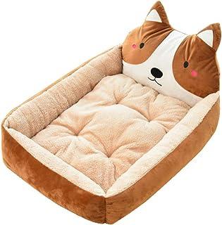 Gris//Turquesa Classic Pet Products Cama Rectangular Impermeable para Perro